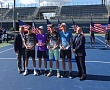 US OPEN JUNIORS. Александр Згировский стал финалистом парного разряда
